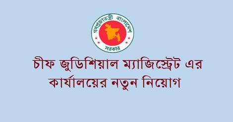 Chief Judicial Magistrate job circular