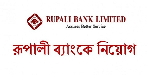 Rupali Bank Limited Job Recruitment