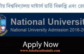 NU Masters Admission