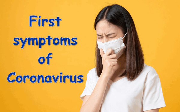 First symptoms of Coronavirus