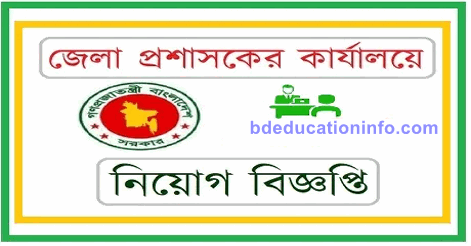 District commissioner office job