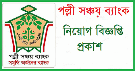Palli Sanchay Bank Job Circular